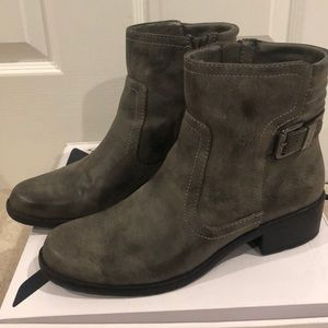 Anne Klein Sport Taupe Booties size 8